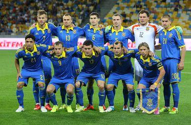 Сборная Украины опустилась на четыре позиции в рейтинге ФИФА