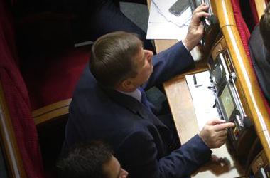 """Больше всего """"кнопкодавов"""" было в группе """"Экономическое развитие"""", а в """"Оппозиционном блоке"""" – ни одного такого случая"""
