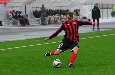 Игрок сборной Украины сломал два ребра в России