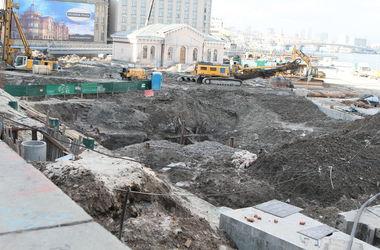 На раскопках на Почтовой площади случился обвал
