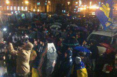 На Майдане почтили память убитого донецкого активиста