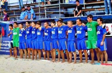 Сборная Украины по пляжному футболу узнала соперников на Европейских играх