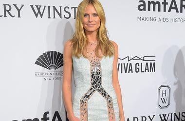 Хайди Клум возмущена, что модели фотографировались напротив Букингемского дворца в белье из ее коллекции