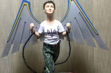 Одесситка создает кукольные копии знаменитостей: Вакарчук с украинским флагом и Савченко в оковах