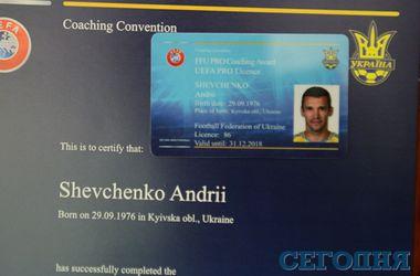 Андрей Шевченко теперь может быть главным тренером в любом клубе мира