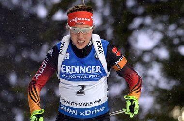 Валя Семеренко заняла 10-е место в масс-старте на последнем этапе Кубка мира по биатлону