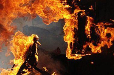 Во время пожара в киевской больнице сгорел пациент, который курил в палате