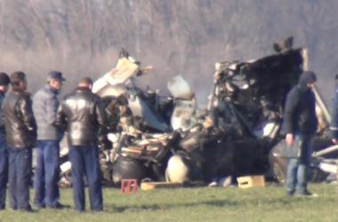 Крушение вертолета под Киевом взялась расследовать военная прокуратура