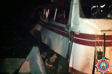 Чиновники уточнили количество пострадавших от взрыва автобуса на мине