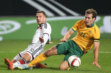Германия ушла от поражения в матче с Австралией