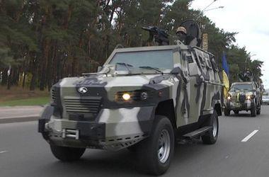 """Боевики обстреляли """"Кугуар"""" пограничников противотанковыми ракетами"""