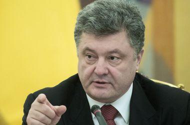 Порошенко назвал условия для встречи с Путиным