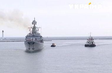 В порт Одессы зашел французский фрегат