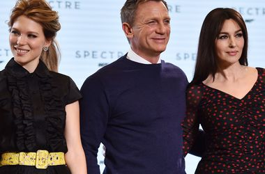 Появился первый трейлер нового фильма о Джеймсе Бонде с Моникой Беллуччи