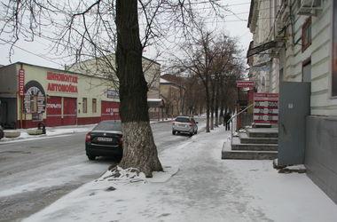 В Харьков вновь пришла зима