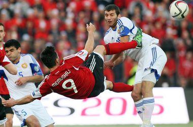 Албания одержала волевую победу над Арменией в отборе на Евро-2016