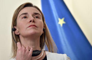 Могерини отменила визит в Украину