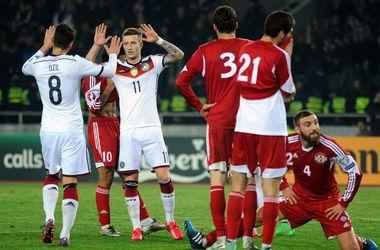 Немцы на выезде обыграли Грузию в отборе на Евро-2016