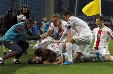 Польша сохранила лидерство в группе D отбора на Евро-2016