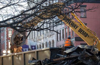 В Нью-Йорке обнаружены тела двух погибших при обрушении зданий