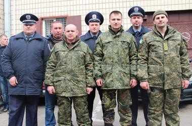В зону боевых действий в рамках ротации отправился отряд правоохранителей Житомирской области