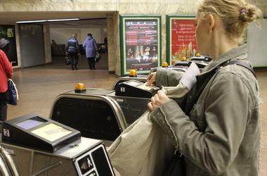 Пассажиры киевского метро запутались в турникетах