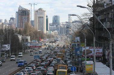 В Киев вернулись большие пробки