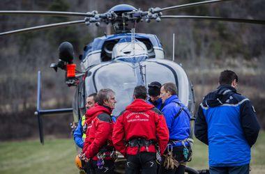 Беременная подруга пилота-убийцы посетила место катастрофы