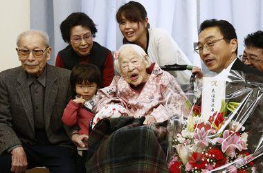 Умерла старейшая в мире женщина
