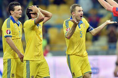 Украина на последних секундах упустила победу над Латвией
