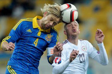 Тимощук вошел в топ-10 игроков УЕФА по количеству игр в национальной сборной