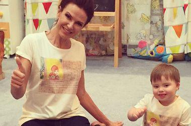 Эвелина Бледанс отмечает день рождения маленького сына