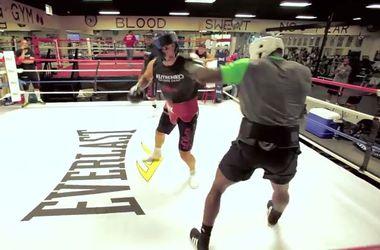 Кличко не жалеет спарринг-партнеров во время подготовки к бою против Дженнингса