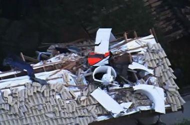 В Бразилии вертолет врезался в дом: много жертв