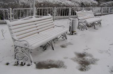 Во Львов вернулась зима: снег засыпал улицы, дома и деревья
