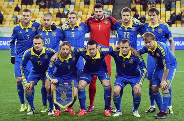 Украина опустилась на пять позиций в рейтинге сборных УЕФА