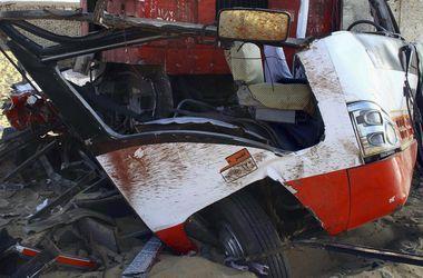 В Китае на автомагистрали перевернулся автобус: погибли 3 человека