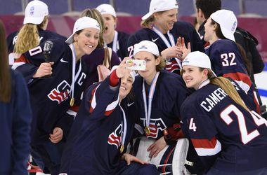 Американки выиграли чемпионат мира по хоккею
