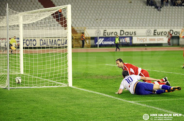 Артем Милевский забил гол в матче чемпионата Хорватии
