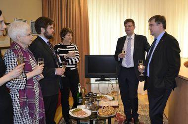 Новый посол Литвы в Украине сегодня прибыл в Киев