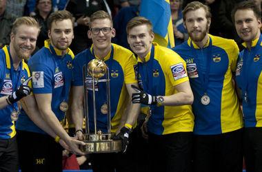 Сборная Швеции стала чемпионом мира по керлингу