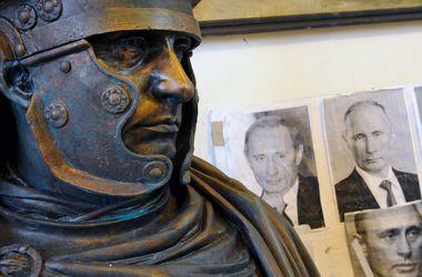 Путина увековечили в образе римского императора