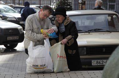 За 4 дня более 100 тыс. мирных жителей Донбасса получили помощь Гуманитарного штаба