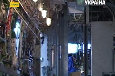 Харьковские авиастроители митинговали под стенами своего завода