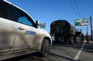 ОБСЕ не может подтвердить отвод тяжелого вооружения в Донбассе