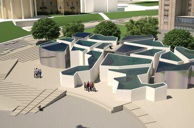 В память о Небесной сотне в Киеве хотят построить лабиринт, огромный зонт и мост
