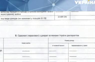 Почти 369 млн. гривен заработал в прошлом году президент Петр Порошенко