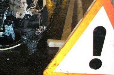 В Львовской области иномарка врезалась в маршрутку с 25 пассажирами