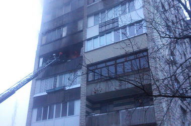 В Киеве на пожаре погибла бабушка