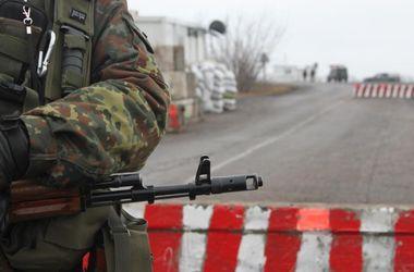 На границе с Россией боевики обстреляли украинских пограничников